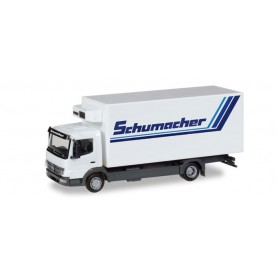 Herpa 308540 Mercedes-Benz Atego refrigerated truck 'Spedition Schumacher'