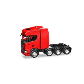 Herpa 308601 Scania CS HD heavy duty rigid tractor, red