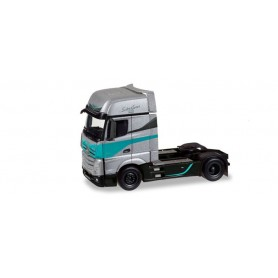 Herpa 308830 'Mercedes-Benz Actros Gigaspace rigid tractor ''Silver Star Edition'' (NL)'