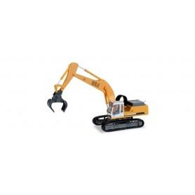 Herpa 308908 Liebherr crawler excavator 954 Litronic with sorting grabs