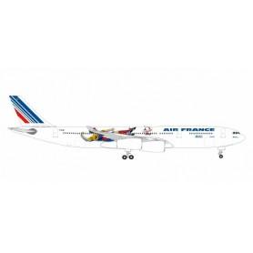Herpa 531412 Flygplan A340-300 Air France'France`98'