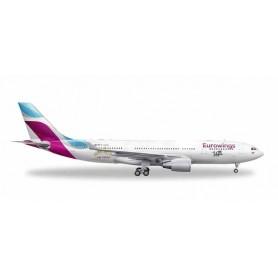 Herpa 531436 Flygplan A330-200 Eurowings 'Las Vegas'
