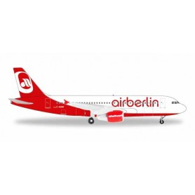 Herpa 531498 Flygplan A320 airberlin 'Last Flight'