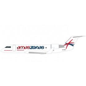 Herpa 611558 Flygplan CRJ-200 Amaszonas Paraguay