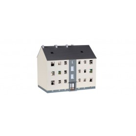 Herpa 746304 Construction kit barracks approx. 18 cm width, 11.5 cm depth, 15.5 cm height