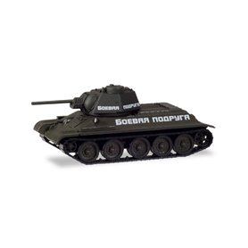 "Herpa 746199 Fighting tank T-34/76 russian army ""Fighting Girlfriend"""