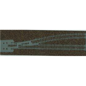Merkur 200271 Rälsbädd för Märklin K-skena 2271L, 2200, 2204, 2274