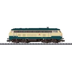 "Diesellok klass 218 320-0 ""Lotte"" typ DB AG ""Nürnberg Mässan 2017"""