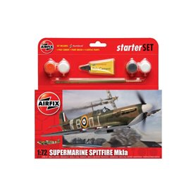 """Flygplan Supermarine Spitfire MkIa """"Gift Set"""""""