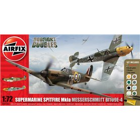 "Spitfire MkIa and Messerschmitt Bf109E-4 Dogfight Doubles ""Gift Set"""