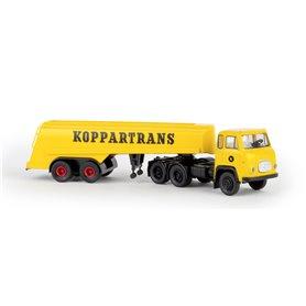 "Brekina 85189 Bil & Tanktrailer Scania LBS 76 ""Koppartrans"""
