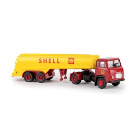 "Brekina 85167 Bil & Tanktrailer Scania LBS 76 ""Shell"""