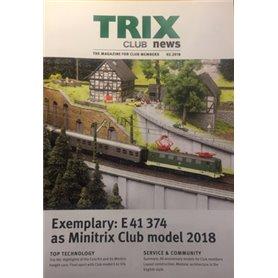 Trix CLUB22018 Trix Club 2/2018, magasin från Trix