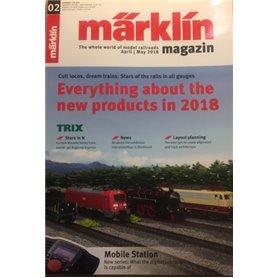 Märklin 298085 Märklin Magazin 2/2018 Engelska
