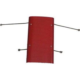 Wilesco 1691 Komplett tak rött, passar för bl.a. D365, D395