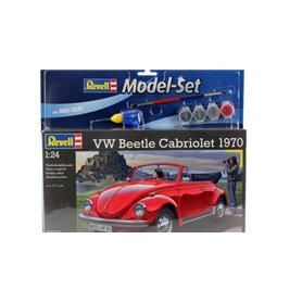 "Revell 67078 VW Bettle Cabriolet 1970 ""Gift Set"""