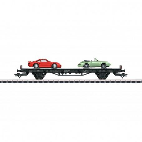 Märklin 45055 Biltransport '70 Years of Porsche typ DB AG - 5