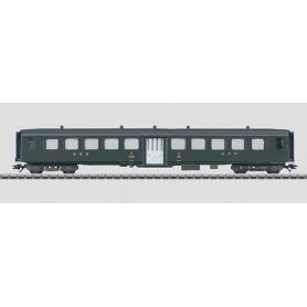 Märklin 43380 Personvagn SBB typ B, 2:a klass med enkel dörr