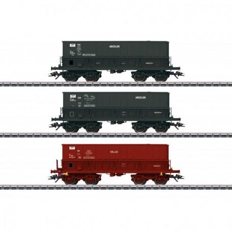 Märklin 48436 Vagnsset med mineraltransportvagnar typ SNCF