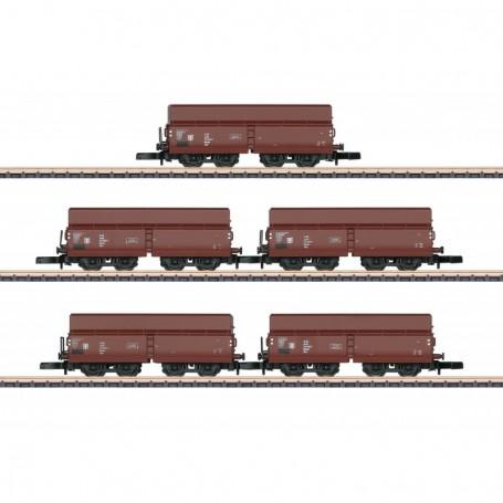 Märklin 82802 Vagnsset med 5 typ 00tu 6778 typ DR
