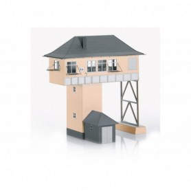 Trix 66327 Building Kit of the 'Kreuztal (Kn) Gantry-Style Signal Tower'