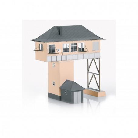 Trix 66327 Building Kit of the 'Kreuztal (Kn) Gantry-Style Signal Tower'