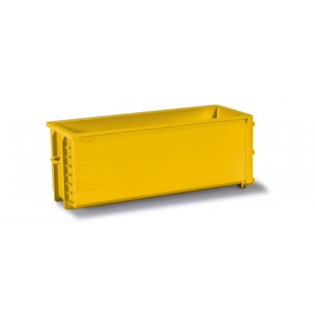 Herpa 053082-005 Transport container, 2 pieces, yellow