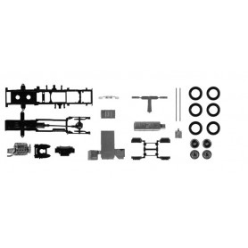 Herpa 084826 chassis for tractor Scania CR | CS Lowliner Content. 2 pcs.
