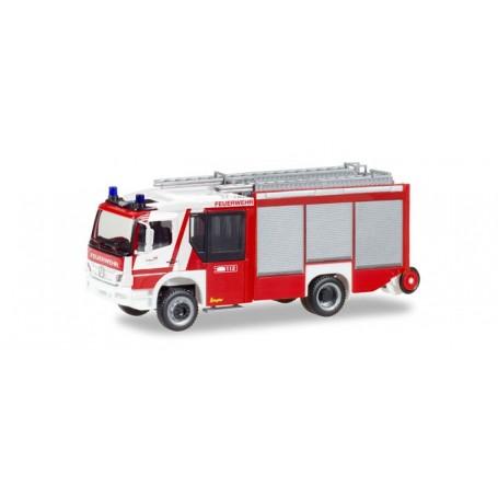 Herpa 093798 Mercedes-Benz Atego Ziegler Z-Cab 'Erfurt fire department'