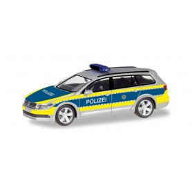 Herpa 093828 VW Passat Variant B8 'Free State of Saxony police department'