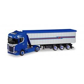 Herpa 308779 Scania CS High roof Stöffel-Liner truck semitrailer 'R. Speier'