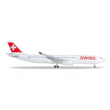 Herpa 523134-003 Flygplan Swiss International Air Lines Airbus A330-300