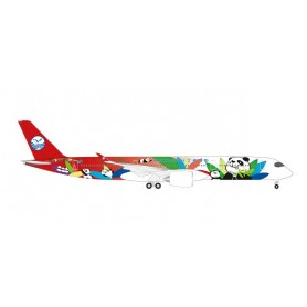 Herpa 531474 Flygplan Sichuan Airlines Airbus A350-900