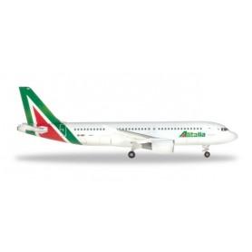 Herpa 531542 Flygplan Alitalia Airbus A320 'Primo Levi'
