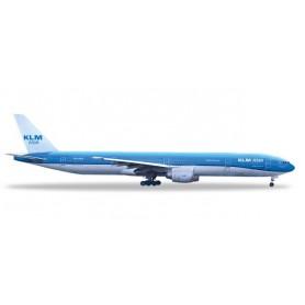 Herpa 531658 Flygplan KLM Asia Boeing 777-300ER 'Fulufjället National Park'