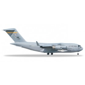 Herpa 531665 Flygplan U.S. Air Force Boeing C-17A Globemaster III - 15th AW, 535th AS, Hickam AFB – 05-5146 'Spirit of Hawai'...