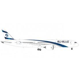 Herpa 559249 Flygplan EL AL Boeing 787-9 Dreamliner