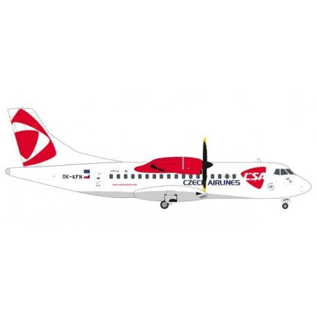 Herpa 559256 Flygplan CSA Czech Airlines ATR-42-500