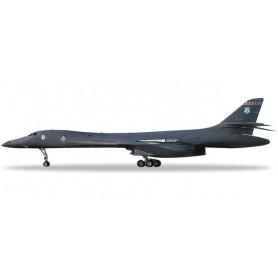 Herpa 559263 Flygplan U.S. Air Force Rockwell B-1B Lancer - Kansas ANG, 127th BS, 184th BW, McConnell AFB 'Wichita Intertriba...