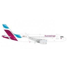 Herpa 562669 Flygplan Eurowings Airbus A320