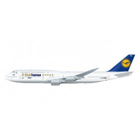 Herpa 611978 Flygplan Lufthansa Boeing 747-8 Intercontinental 'Starhansa'