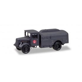 Herpa 746335 Mercedes 3000 tank truck 'Jagdgeschwader 1'