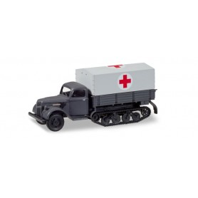 Herpa 746366 Ford 987 Maultier 'Sanitary Truck'