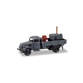 Herpa 746373 Ford 917 T platform with field kitchen 'Wehrmacht'