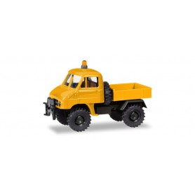 Herpa 746502 Unimog U 411 platform 'US Air Force Berlin' (in cooperation with Brekina)
