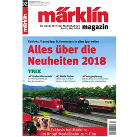 Märklin 298094 Märklin Magazin 2/2018 Tyska