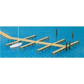 Preiser 17315 Båtbryggor