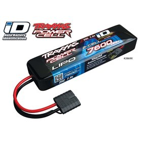 Traxxas 2869X Li-Po Batteri 2S 7,4V 7600mAh 25C iD-kontakt