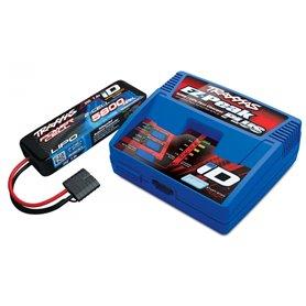 Traxxas 2992G Laddare (230V) och 2S LiPo 5800mAh iD Batteri Combo