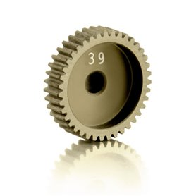 XRay 305989 Narrow Pinion Gear Alu Hard Coated 39t|64p, 1 st